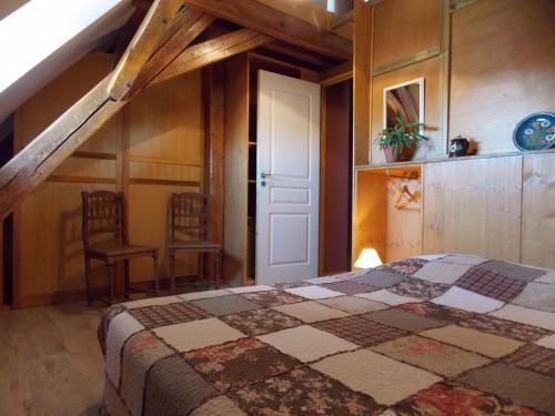 Grande chambre gîte «Coté Village»