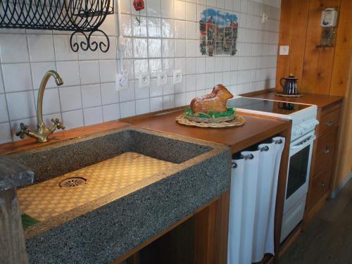 La cuisine du gîte «Coté Village»