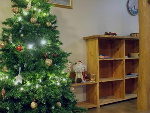 Décoration de Noël gîte «Coté Grange»