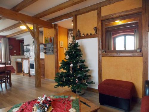 Salon décoration de Noël gîte «Coté Village»